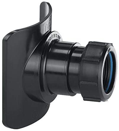 "Mechanical Soil Pipe Boss Connector 2"" Black"