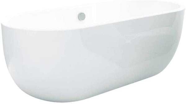 Synergy San Marlo 1655mm White Modern Freestanding Bath