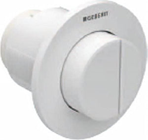 Geberit 116.056. KJ. 1í«Ì_Ì_ÌÎ̝ÌÎ̥í«ÌÎ_10, Recessed, Remote Control for Dual Flush Pneumatic Button, for Sigma 8í«ÌÎ_cm, White Gloss/Chrome/White