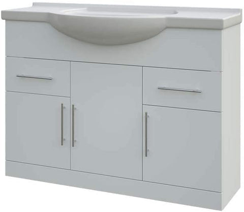 Arley Navero 1200mm Gloss White Basin Unit 237NNC107