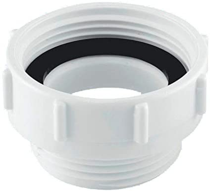 McAlpine T12 Waste Outlet Reducer, White