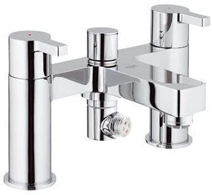 Grohe Lineare 25113 000 Chrome 1/2 inch Bath/Shower Mixer
