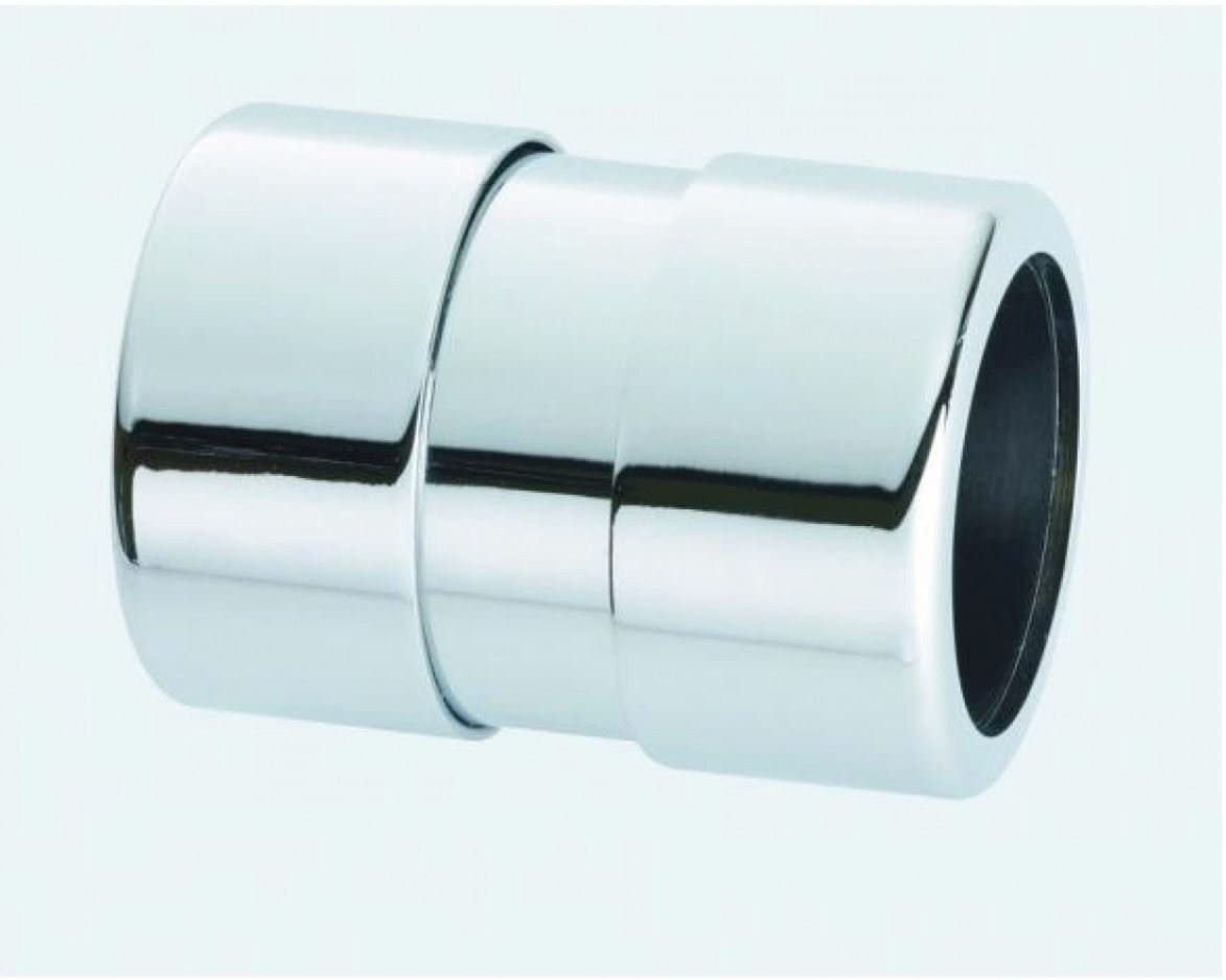 35mm McAlpine Chrome Plated Straight Connector 35G-CB