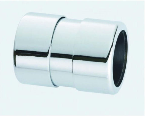 42mm McAlpine Chrome Plated Straight Connector 42G-CB