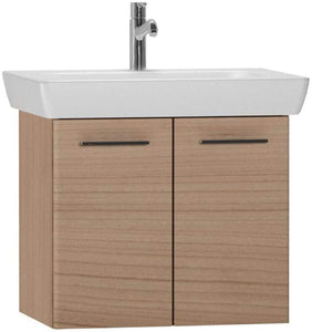 Vitra S20 Furniture Golden Cherry 65cm Double Door Vanity Unit with Basin