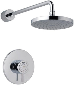 Mira Showers 1.1656.013 Element SLT Built-in Rigid (BIR) Thermostatic Mixer Shower, Chrome
