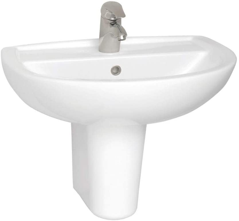 VitrA Layton White 65x49cm Two Tap Holes Basin Only