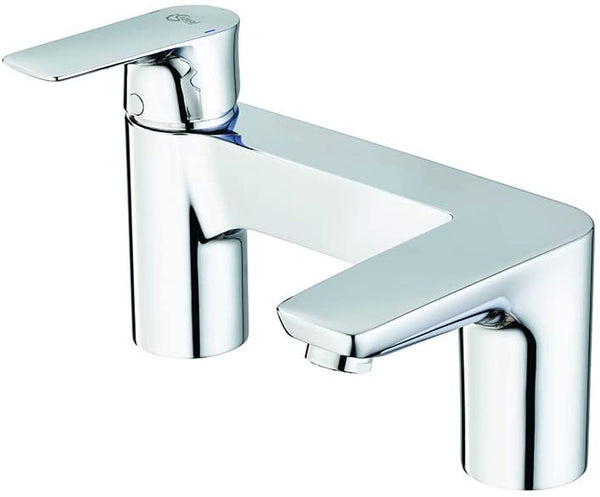 Ideal Standard A7051AA Concept Air 2 tap Hole Bath Filler, Chrome