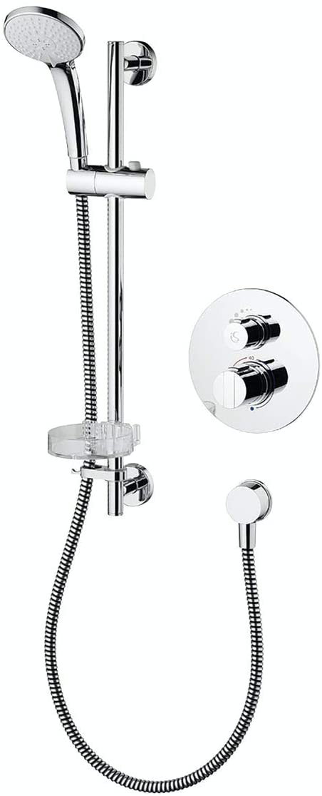 Ideal Standard Easybox Slim Round Concealed Thermostatic Mixer Shower