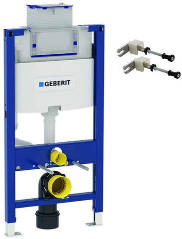 Geberit Duofix 820mm Concealed WC Wall Mounting Frame with Omega Cistern 111.004.00.1