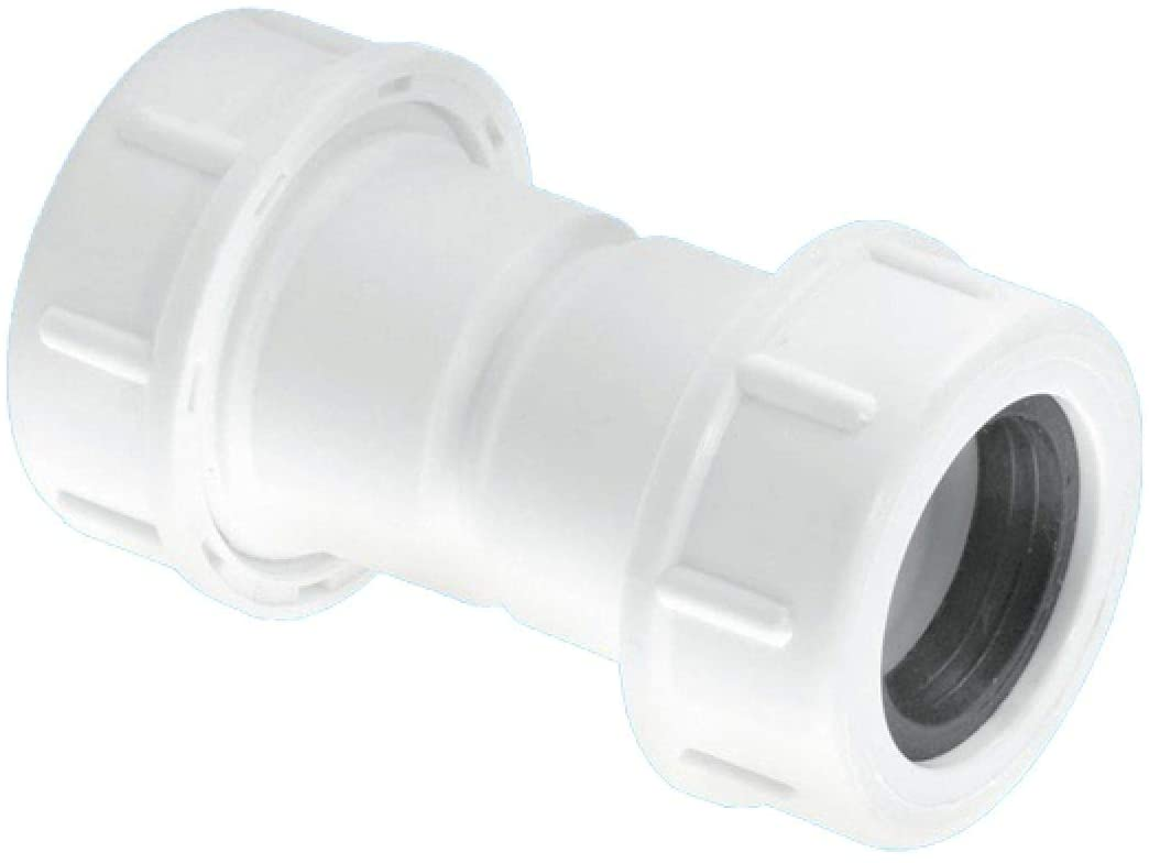 "McAlpine Universal Overflow Pipe Connector 19-23mm 3/4"" R1M"