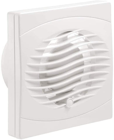 "ARLEY 107M1004T 4"" Extractor Fan with Timer White"