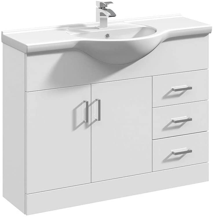 Arley Navero/Verona 1050mm 1 Tap Hole Classic Basin 237NNB006