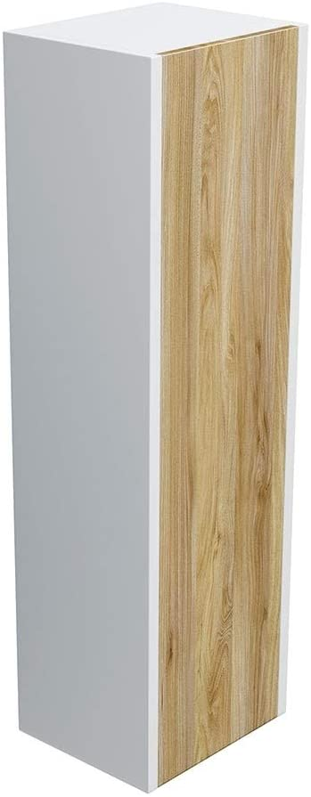 Synergy 300mm Float Driftwood Wall Side Cabinet