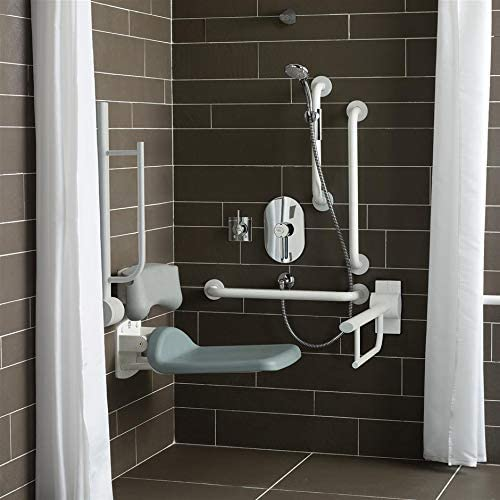 Armitage Shanks S6960RN Charcoal Contour 21 White Shower Room Pack