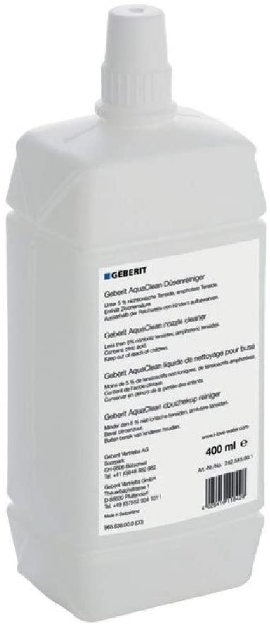Geberit AquaClean (Nozzle Cleaner 400 ml, Dermatologically Tested) 242.545.00.1