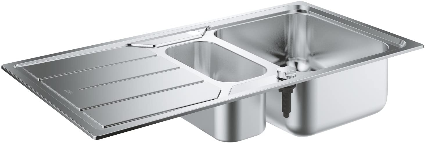 GROHE 31572SD0 | K500 Sink 1.5 bowl | Stainless Steel