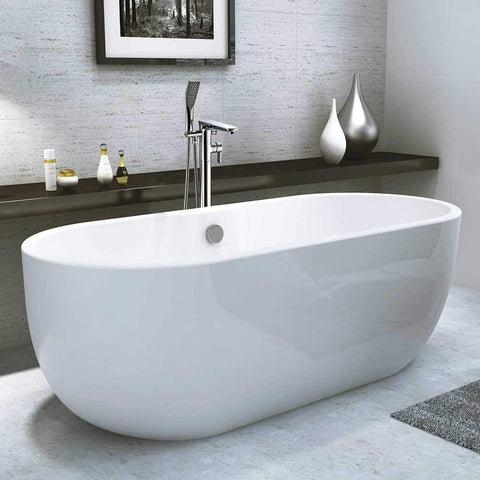 Synergy San Marlo 1555mm White Double Ended Bath