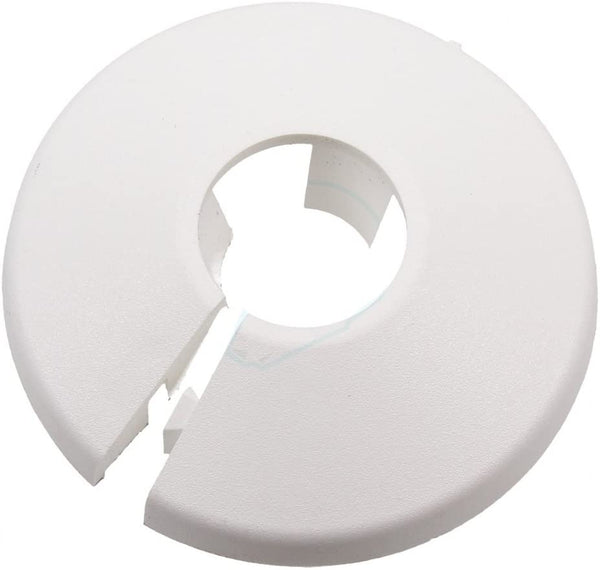 Talon PC28/10 PC Pipe Collar, White, 28 mm, Set of 10 Pieces