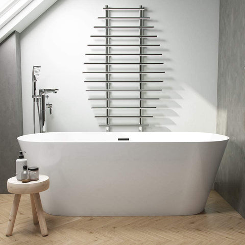 Synergy Lugano 1600mm Modern Double Ended Bath SY-FSB400