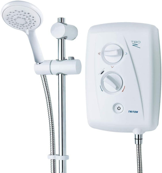 Triton T80z Fast-Fit Electric Shower 10.5kW Bathroom