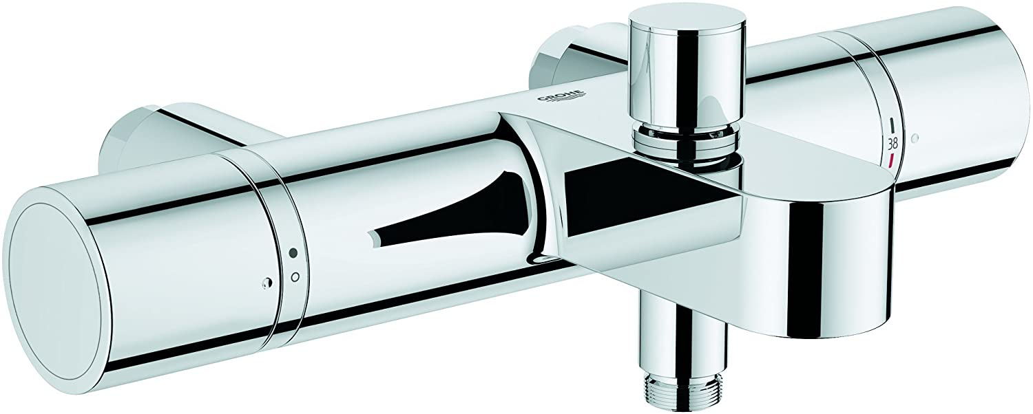 GROHE 34448000 | Grohtherm 1000 Cosmopolitan Thermostatic Bath/Shower Mixer