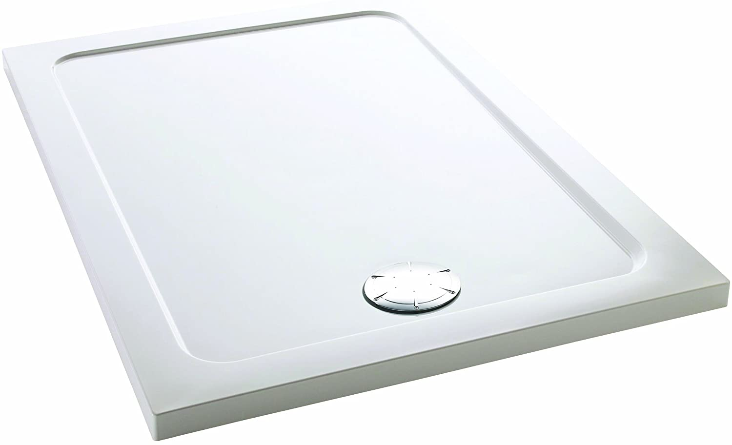 Mira 1.1697.008.AS White Flight Safe Rectangle Shower Tray 1000 mm x