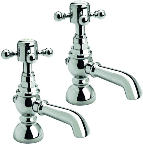 Trisen Formby TT101 Traditional Pair of Basin Taps (Full Turn Operation)