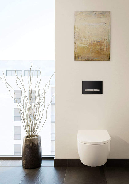Geberit iCon/4U washdown WC 6l, wall-hung, white, colour: White, with KeraTect - 204000600