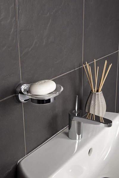 Croydex Flexi-Fix Easy to Fit Pendle Soap Dish and Holder