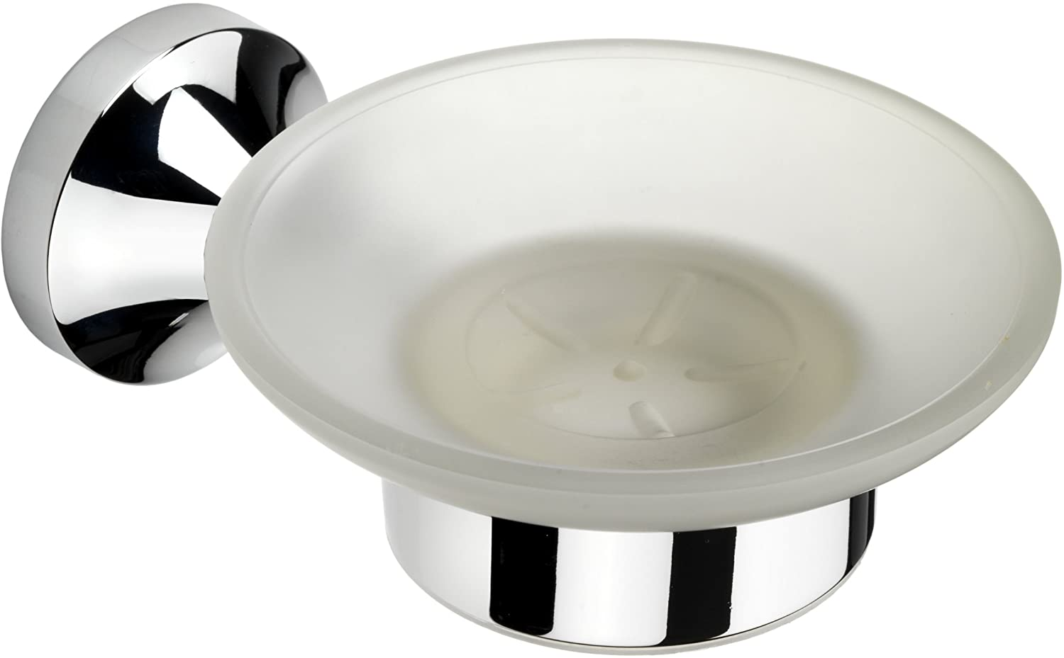 Croydex Flexi-Fix Torbay Soap Dish and Holder