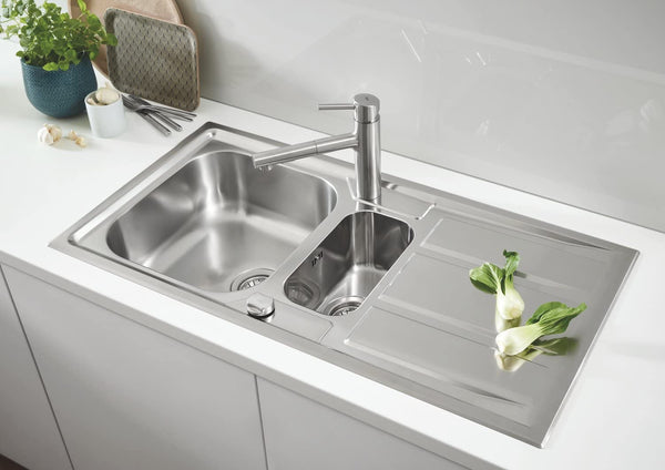 GROHE 31569SD0 | K400+ Sink 1.5 bowl | Stainless Steel