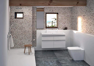 KG Washdown WC it! Floor Standing flushless White