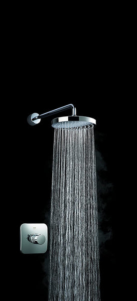 Mira Showers 1.1736.405 Adept Built-in Rigid (BIR) Chrome Plated Thermostatic Shower Mixer