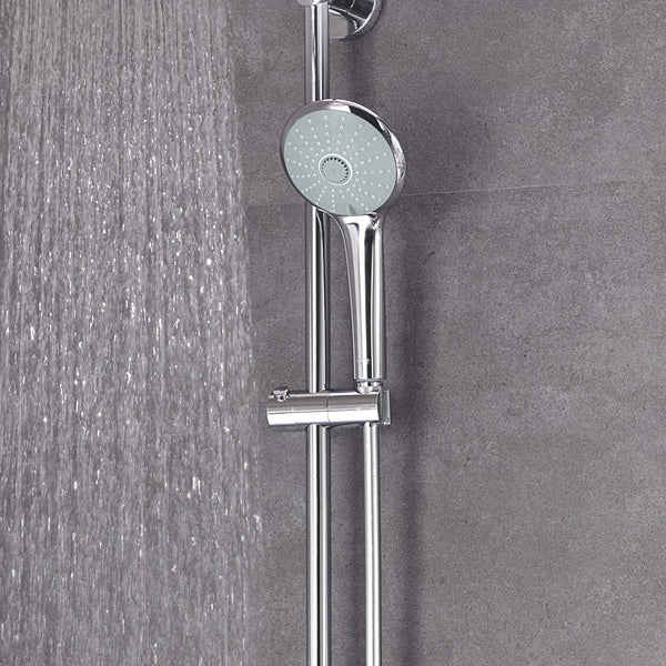 GROHE 27475001 Euphoria 260 Thermostatic Shower System with Diverter, Chrome