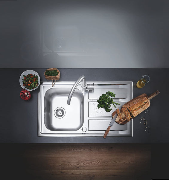 GROHE 31568SD0 | K400+ Sink 1.0 bowl | Stainless Steel