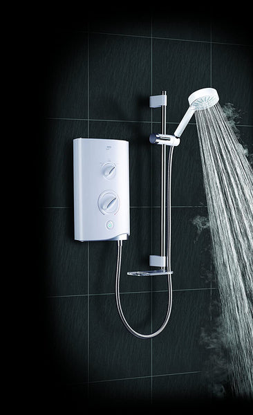 Mira Sport 9.8kW White/Chrome Electric Shower 1.1746.003