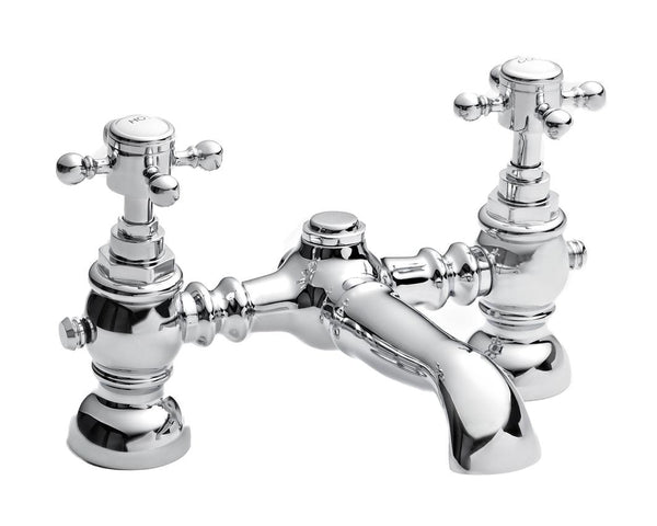 Edwardian Bath Filler, in Chrome, (Product Code: TED303)