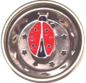 Billy Joe Ladybug Sink Strainer
