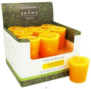 Aroma Naturals Relaxing Votive Candle