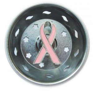 Billy Joe Pink Ribbon SInk Strainer