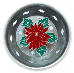 Billy Joe Poinsetta Sink Strainer
