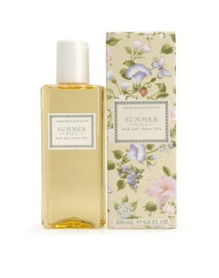 Crabtree & Evelyn Summer Hill Bath Gel