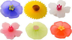 Charles Viancin Floral Drink Markers Set of 6