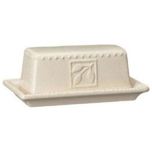 Sorrento Ivory Butter Dish