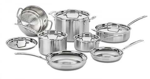 Cuisinart Multi-Clad 12 Pc Set