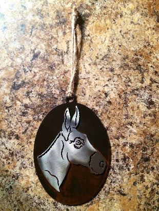 Ironworks Mule Ornament