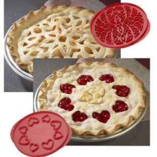 Nordic Ware Lattice & Heart Pie Top Cutter