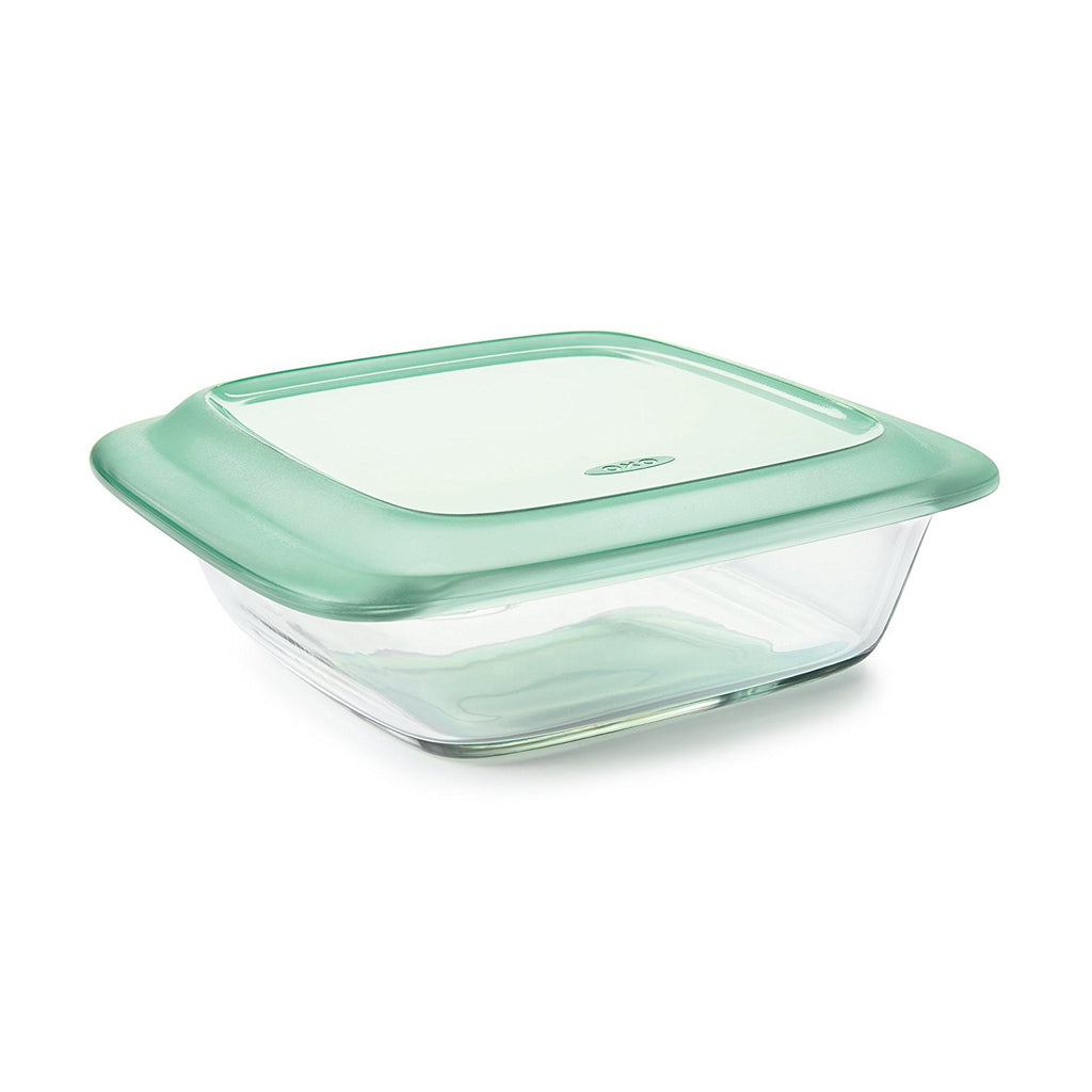OXO Freezer-to-Oven Safe 2 Qt Glass Baking Dish with Lid