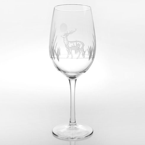 Rolf glass Deer Wine Glass